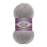 Пряжа Alize Cotton Gold серый 200