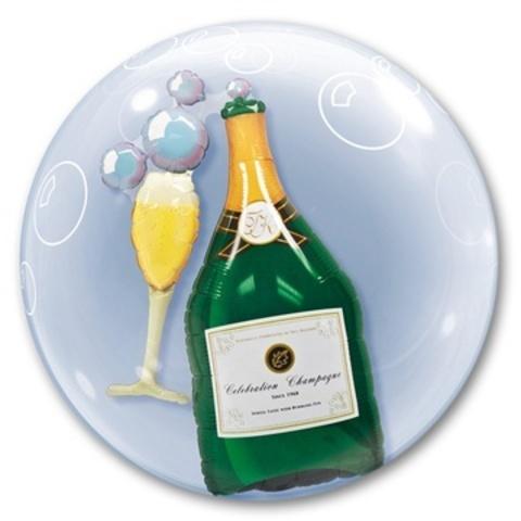 Деко-бабл Шампанское