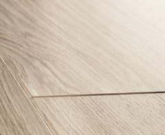 Ламинат Quick Step Perspective 4 Доска дубовая светло-серая лакированная UF1304
