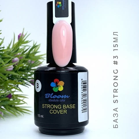 База Bloom Strong жесткая оттенок №3 15 мл