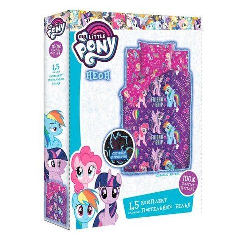 Комплект постельного белья My little Pony ( Дружба) 1,5