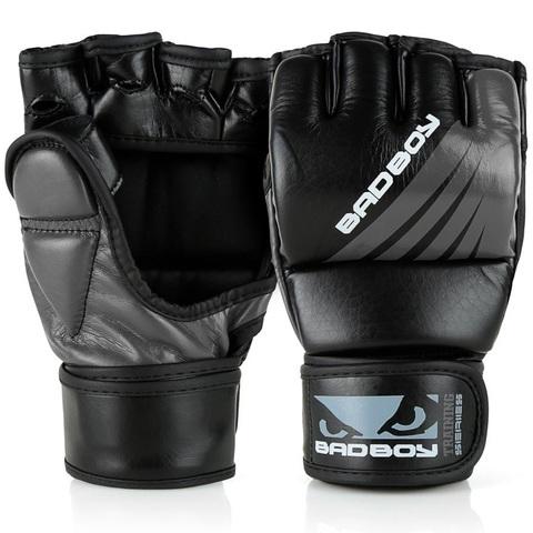 Перчатки для ММА Bad Boy Training Series Impact With Thumb Black/Grey