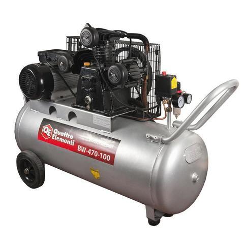 Компрессор поршневой масляный QUATTRO ELEMENTI BW-500-100 ( 490 л/мин, 100 литров,  3,0 л. (771-725), шт
