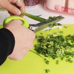 Ножницы для зелени с 5 лезвиями