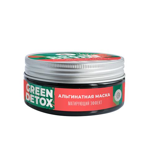 МДП Альгинатная маска Green Detox Матирующий эффект, 60г