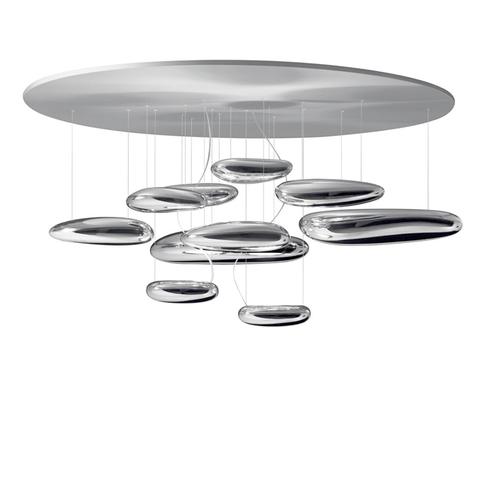 Потолочный светильник копия Mercury by Artemide (10 плафонов)