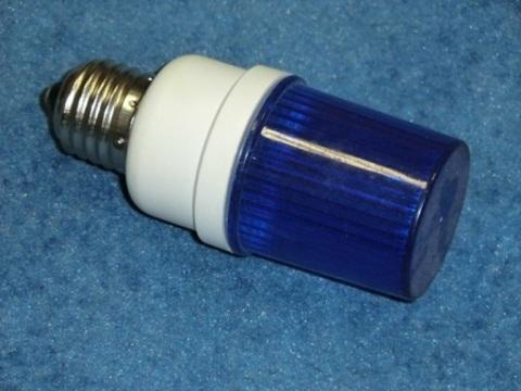 Строб лампа ксеноновая синяя Е27