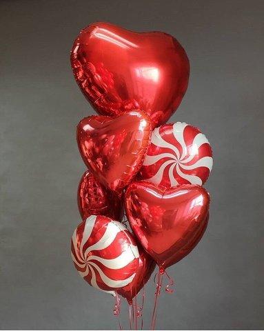 Фонтан из шаров Моей конфетке