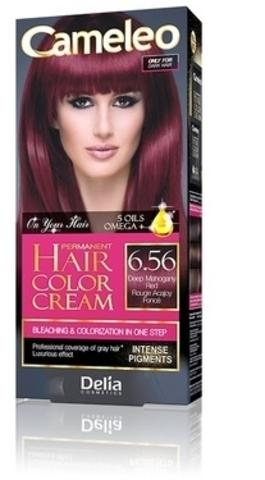CAMELEO Kрем краска для волос тон 6.56 глубокий красный махагон (Delia cosmetics)