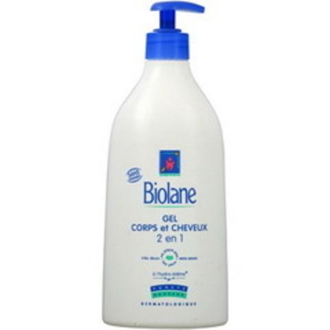 BIOLANE Гель для тела и волос 2/1 GELCORPS ET CHEVEUX 750 мл
