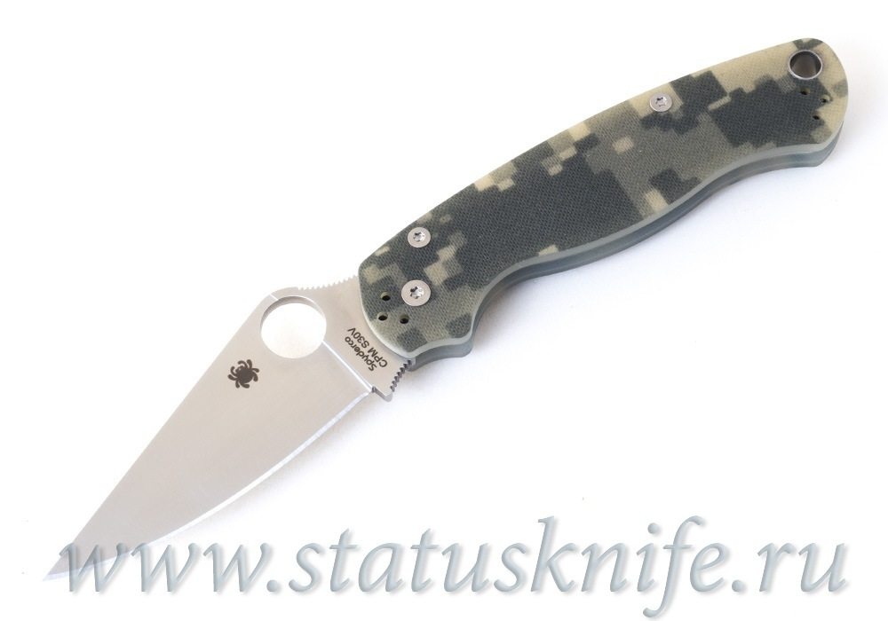 Нож Spyderco Paramilitary 2 C81GPCMO2 camo