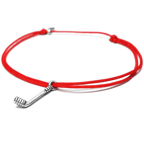 Hockey Bracelet, sterling silver