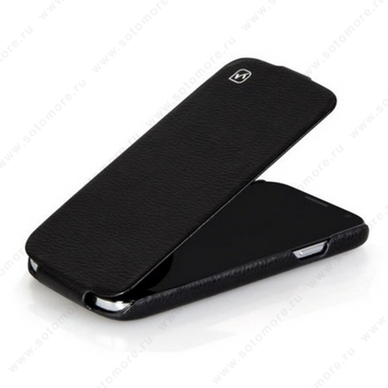 Чехол-флип HOCO для Samsung Galaxy S4 i9500/ i9505 - HOCO Duke flip Leather Case Black