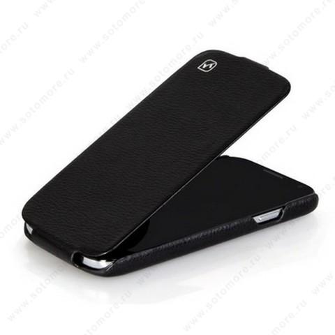 Чехол-флип HOCO для Samsung Galaxy S4 i9500/ i9505 - HOCO Duke flip Leather Case Black