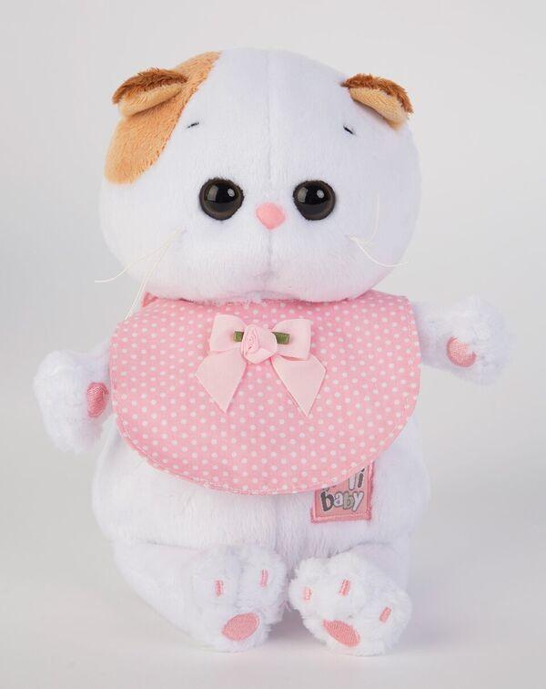 Ли-Ли Baby в розовом слюнявчике