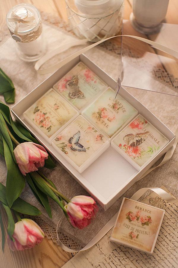 Коробка для упаковки мыла с прозрачной крышкой