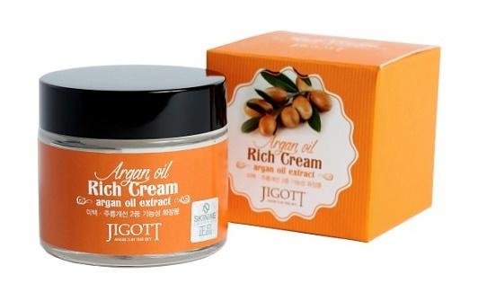 крем для лица с аргановым маслом Jigott
