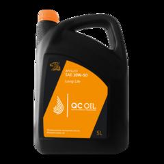 Моторное масло для легковых автомобилей QC Oil Long Life 10W-50 (минеральное) (205 л. (брендированная))