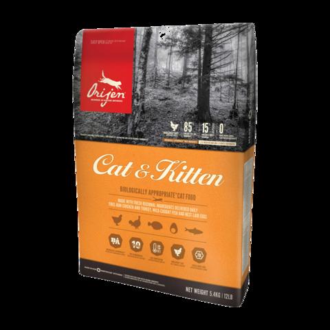 Orijen Cat & Kitten Сухой корм для кошек Цыпленок беззерновой