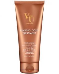 Уход для волос с экстрактом золотого женьшеня Von-U Ginseng Gold Treatment, 200 мл