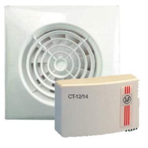 Вентилятор с трансформатором Soler & Palau KIT SILENT 100 CZ 12V+CT 12/14