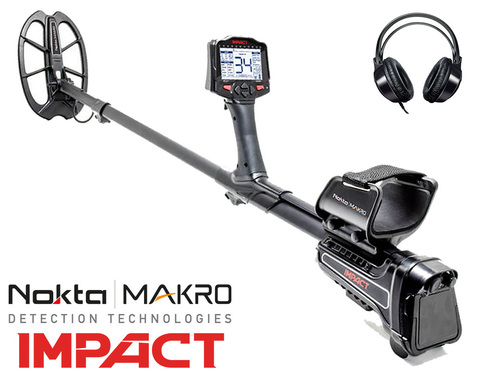 Металлоискатель Nokta Makro Impact