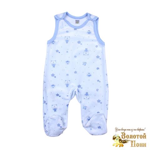 Полукомбинезон детский велюр (62-80) 200108-BK1153K.4