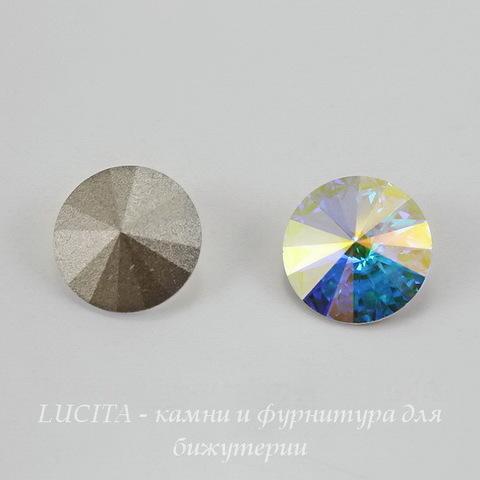 1122 Rivoli Ювелирные стразы Сваровски Crystal AB (SS39) 8,16-8,41 мм (large_Картинка)