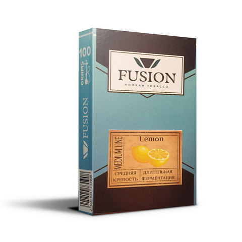 Табак Fusion Medium lemon 100 г
