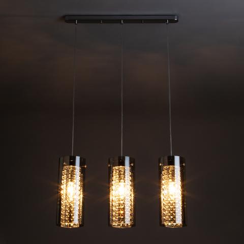 Подвесной светильник 1636/3 хром