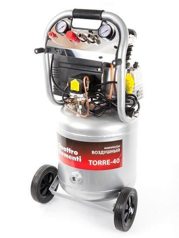Компрессор поршневой масляный QUATTRO ELEMENTI TORRE-40 (300 л/мин, 40л, 2,5 л.с, 8 бар, 3 (770-261), шт