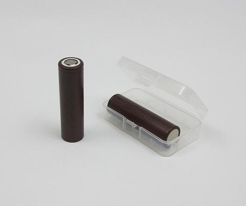 Силиконовый чехол для хранения аккумуляторов 18650*2