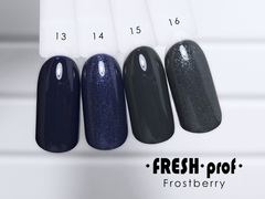 Гель-лак  Fresh prof Frost Berry FB №14