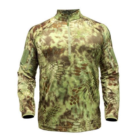 Куртка KRYPTEK Valhalla LS ZIP с молнией и длинными рукавами (Mandrake)