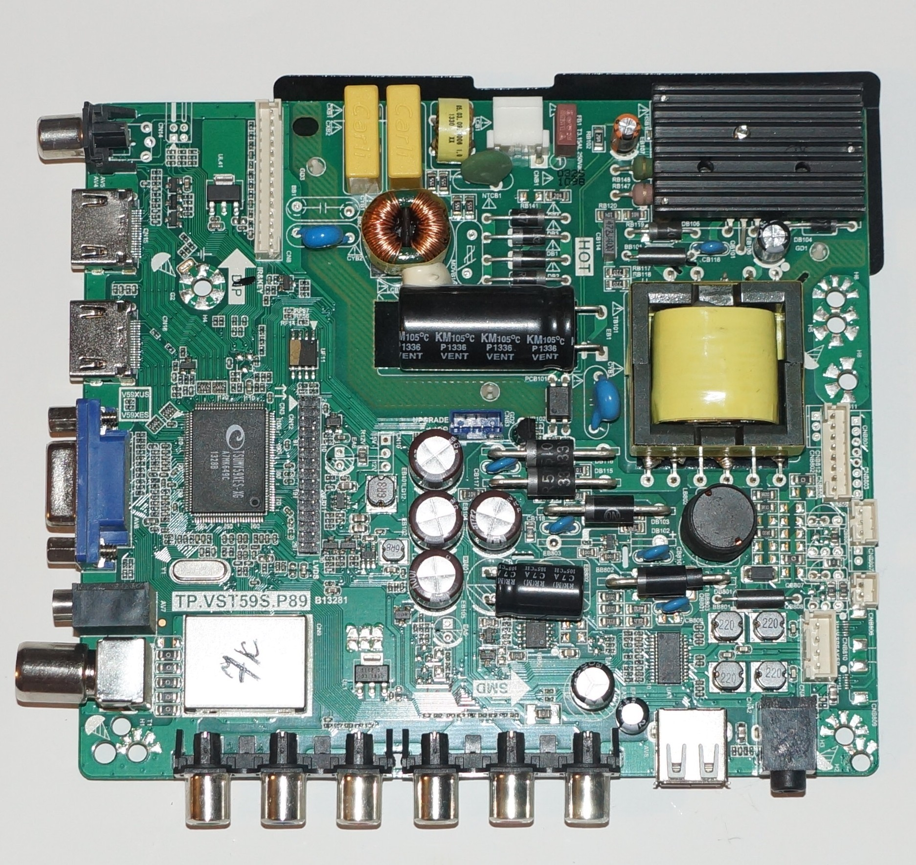 TP.VST59S.P89 mainboard телевизора Fusion