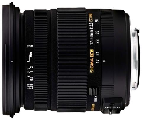 Объектив Sigma AF 17-50mm f/2.8 EX DC OS HSM для Pentax