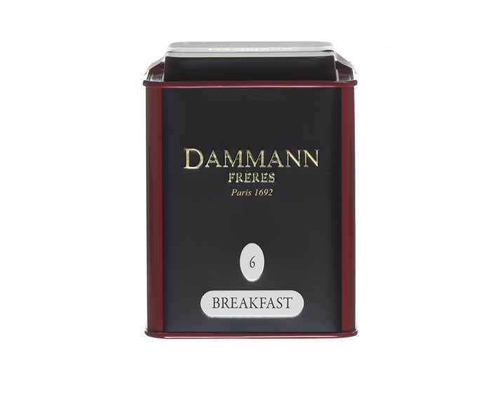 Чай черный Dammann Breakfast, 100 г (Дамманн)
