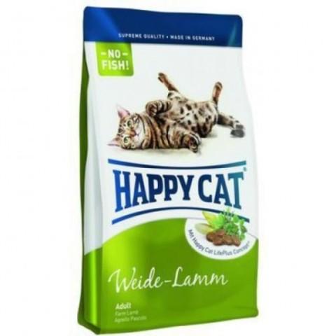 Happy Cat Supreme Weide-Lamm для взрослых кошек с ягненком 10 кг