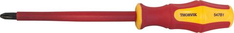 SDPI180 Отвертка стержневая диэлектрическая крестовая VDE 1000V, PH1x80 мм