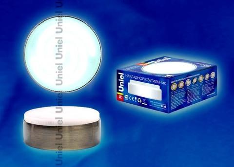 Uniel Светильник ESL-GX53/FT антич/бронза (черн/бронза)