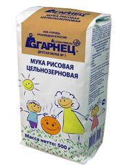 Garnec Мука рисовая без глютена 500 гр