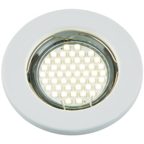 DLS-A104 GU5.3 WHITE Светильник декоративный встраиваемый ТМ