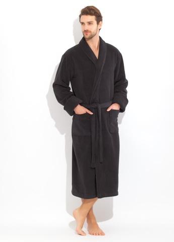 Brutal 920 Черный  махровый  мужской халат   Россия