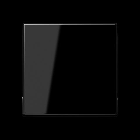 Выключатель одноклавишный проходного типа. 10 A / 250 B ~. Цвет Чёрный. JUNG A. 506U+A590SW