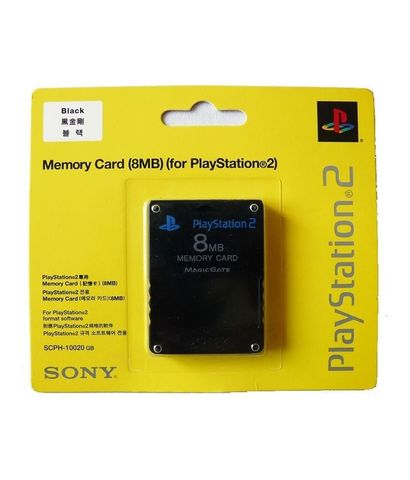 PS2 Memory Card 8MB