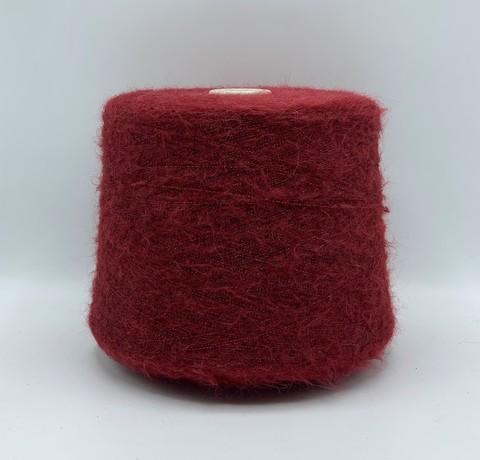 Бобинная пряжа Filitali lab(пр.Италия),art.ANDROMEDA ,800м/100гр, 68%Альпака суперфайн 12%Меринос 16%Полиамид 4%Полиэстр, цвет-Бордовый с люрексом. арт-7361