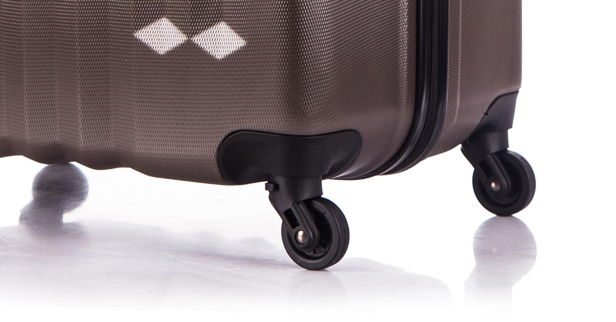 Чемодан со съемными колесами L'case Phuket-20 Кофейный ручная кладь (S)