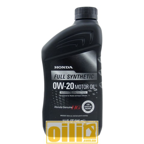 Honda Genuine Syntetic 0W-20 1L (1)