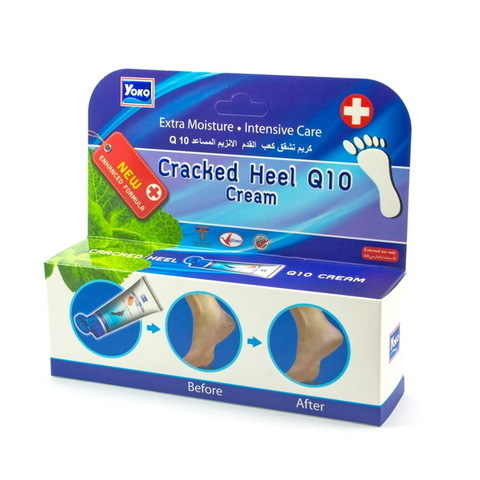 Крем для ног Yoko Cracked Heel Q10 Cream, 50 гр.