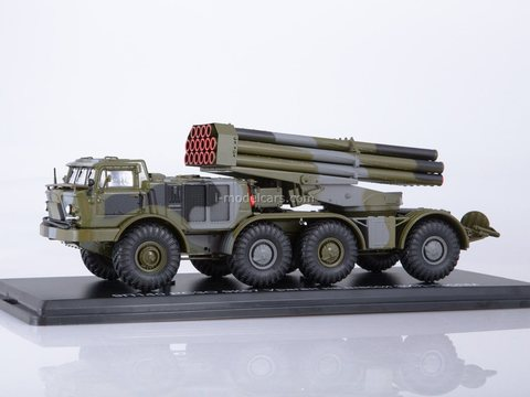 ZIL-135LM 9P140 RSZO 9K57 Hurricane 1:43 Start Scale Models (SSM)